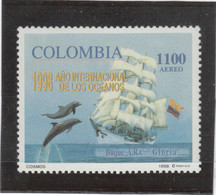 "V17 - COLOMBIE - PA 987 **MNH De 1998 - GRAND VOILIER - "" GLORIA "" - Colombia"