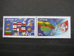 United Europa # Lietuva Litauen Lituanie Litouwen Lithuania # 2004 MNH # Mi. 844/5 - Lithuania