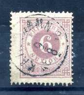 1872-79 SVEZIA NUMERO 19 DENTELLATURA 14 USATO / Vedi Scansione - Svezia