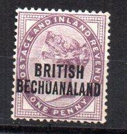 Sello Nº 31 Bechuanaland - Bechuanaland (...-1966)