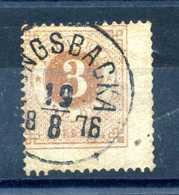 1872-79 SVEZIA NUMERO 16 DENTELLATURA 14 USATO / Vedi Scansione - Svezia