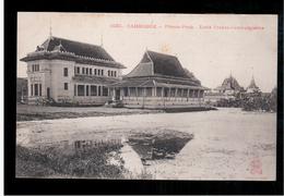 CAMBODIA  Cambodge Phnom Penh Ecole Franco-Cambodgienne Ca 1910 OLD POSTCARD 2 Scans - Cambodia
