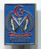 POLISARIO PALESTINE - Vintage Pin, Badge, Abzeichen - Associations