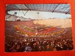 Munchen Monaco Bayern Olympia Stadium Cartolina Stadio Postcard Stadion AK Carte Postale Stade Estadio - Calcio