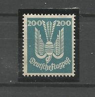 Deutsches Reich, Holztaube Nr. 349 Falz * - Ungebraucht