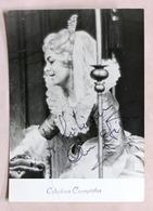 Musica Lirica - Autografo Della Cantante Soprano Celestina Casapietra - Anni '70 - Autographs
