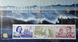 "Australia   World Philatelic Exhibition Australia""99 S/S - 1990-99 Elizabeth II"