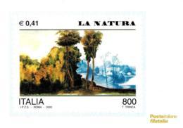 [MD2436] CPM - RIPRODUZIONE FRANCOBOLLO POSTE ITALIANE - AVVENTO ANNO DUEMILA - LA NATURA - Non Viaggiata - Francobolli (rappresentazioni)