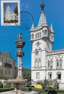 MAXIMUM CARD - MAXICARD - MAXIMUM KARTEN - CARTE MAXIMUM - PORTUGAL - CONSEILE MUNICIPAL - SINTRA - TIMBRE PERSONALISÉ - Monuments