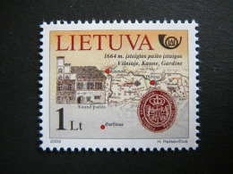From The Post History # Lietuva Litauen Lituanie Litouwen Lithuania # 2003 MNH # Mi. 829 - Lithuania
