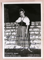 Musica Lirica - Autografo Della Cantante Soprano Nicoletta Panni - Anni '70 - Autographs
