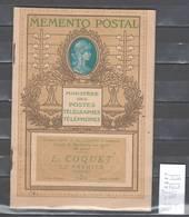France - Memento Postal Imprimé Par Draeger - Vademecum Des Tarifs Postaux - Environ 1900 - Marcophilie (Lettres)