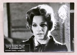 Musica Lirica - Autografo Della Cantante D'opera Mietta Sighele - Anni '70 - Autographs