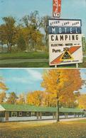 Otter Lake Park Motel - Ontario Canada -  VG Condition - Unused - 2 Scans - Ontario