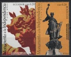 Ecuador (2006) Yv. 2029/30  /  Independence - Independency - Independencia - Equateur