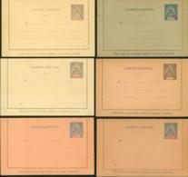 Nouvelle-Calédonie - Carte Lettre - EP 3,4,5,6,7,8  (5G23704) DC1161 - Entiers Postaux