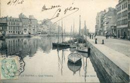 N°67835- Cachet Convoyeur (ambulant) Le Havre à Rouen- 1906- - Poststempel (Briefe)