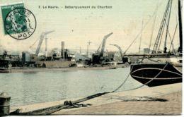 N°67841- Cpa Le Havre -débarquement Du Charbon- - Commerce