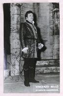 Musica Lirica - Autografo Del Tenore Italiano Vincenzo Bello - Anni '70 - Autographs