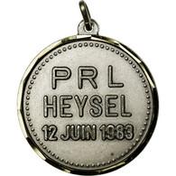 Belgique, Médaille, Parti Libéral, PRL, Heysel, 1983, SUP+, Silvered Bronze - Belgium