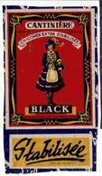 """Etiquette Pub """" CANTINIERE """" Chicorée Extra. Stabilisée - Black - St Olle Les Cambrai - Autres Collections"""