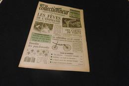 LA VIE DU COLLECTIONNEUR N°7 -2 JAN 1992  FEVEC EPIPHANIE CARTES DE VOEUX PATCHWORKS CELERIFERE  ACHAT IMMEDIAT - Collectors