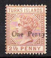 Sello Nº 30 Turks Island - Grande-Bretagne (ex-colonies & Protectorats)