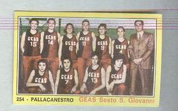 GEAS SESSTO SAN GIOVANNI...TEAM...PALLACANESTRO....VOLLEY BALL...BASKET - Trading Cards