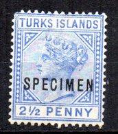 Sello Nº 31 Sobrecarga Specimen  Turks Island - Grande-Bretagne (ex-colonies & Protectorats)