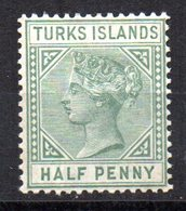 Sello Nº 21  Turks Island - Grande-Bretagne (ex-colonies & Protectorats)
