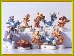 Tom Et Jerry Magiciens Email ... Serie Complète... Ref. AFF : 70-2005 .. (pan 0043) - Dessins Animés