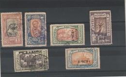 Ethiopie 6 Timbres Oblitérés - Voir Scan - - Ethiopia