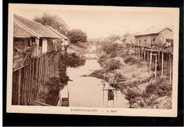 CAMBODIA  Cambodge Kompong- Luong - Le Rach Ca 1930 OLD POSTCARD 2 Scans - Cambodia