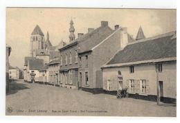 Léau - Zout Leeuw  Rue De Saint Trond - Sint-Truidenschestraat - Zoutleeuw