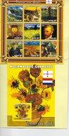 TIMBRES - STAMPS - SELLOS - MOZAMBIQUE / MOÇAMBIQUE -2001- VINCENT VAN GOGH - SÉRIE ET BLOC AVEC TIMBRES NEUFS - MNH - Künste