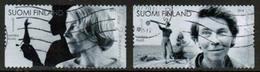 2014 Finland, Tove Jansson, Moomin Creator, Complete Set Used. - Finlande