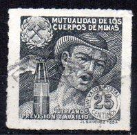 Viñeta Mutualidad De Los Cuerpos De  Minas - España