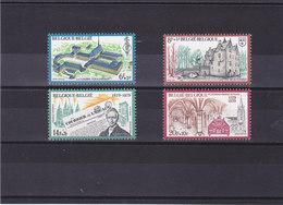 BELGIQUE 1979 Série Culturelle Yvert 1935-1938 NEUF** MNH - Belgique