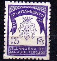 Viñeta Ayuntamiento De Villanueva De Alcardete Toledo - Otros