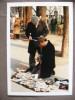 Métier Vendeur De Cartes Postales Paris 1989 Photographe Françoise Divetain - Berufe