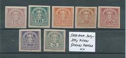 SATZ ANK. 301y - 311y Dickes Graues Papier Postfrisch Siehe Scan - 1918-1945 1. Republik