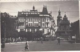 Latvia. Street, Agitation, Tram. - Latvia