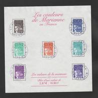 FRANCE / 2001 / Y&T BF N° 41 (Luquet En F - Valeurs De La Monnaie) - Oblitérations Du 20/12/2001. SUPERBE ! - Blocs & Feuillets