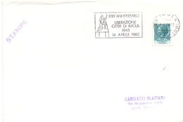 LIBERAZIONE CITY OF IMOLA 1980  COVER MAXI FORMAT (DICE1800064) - Militaria