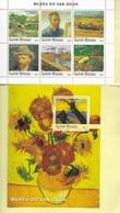 TIMBRES - STAMPS - SELLOS - GUINÉE-BISSAU / GUINEA-BISSAU -2003- VINCENT VAN GOGH - SERIE BLOC AVEC TIMBRES NEUFS - MNH - Künste