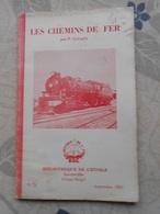 Petit Livret Chemin De Fer Bibliotheque De L'étoile Leverville Congo Belge 1953 - Spoorweg