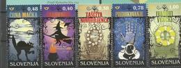 SI 2018-15 MAGIC , SLOVENIA, 1 X 5v, MNH - Slowenien
