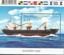 SI 2018-14 SHIP , SLOVENIA, S/S, MNH - Slowenien