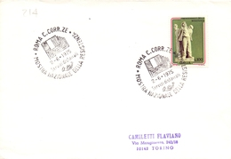 ANNIVERSARIO LIBERAZIONE  AOSTA  1975  COVER MAXI FORMAT (DICE1800066) - Militaria