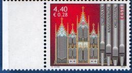Estoniaa Eesti 2006 Organ Music Festival Composer 1 Value MNH Organ Orgaan Pipes Reval Tallinn - Musique